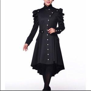 Jackets & Blazers - Victorian Steampunk High/Lo Coat